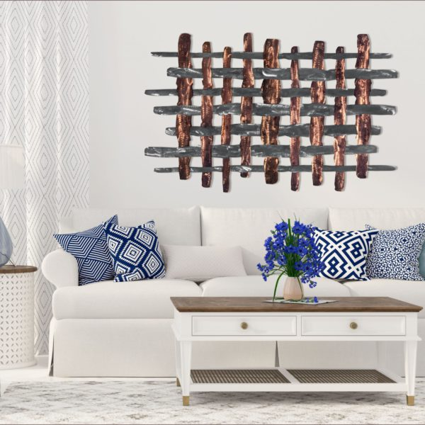 distressed-copper-crosshairs-in-living-room-scaled